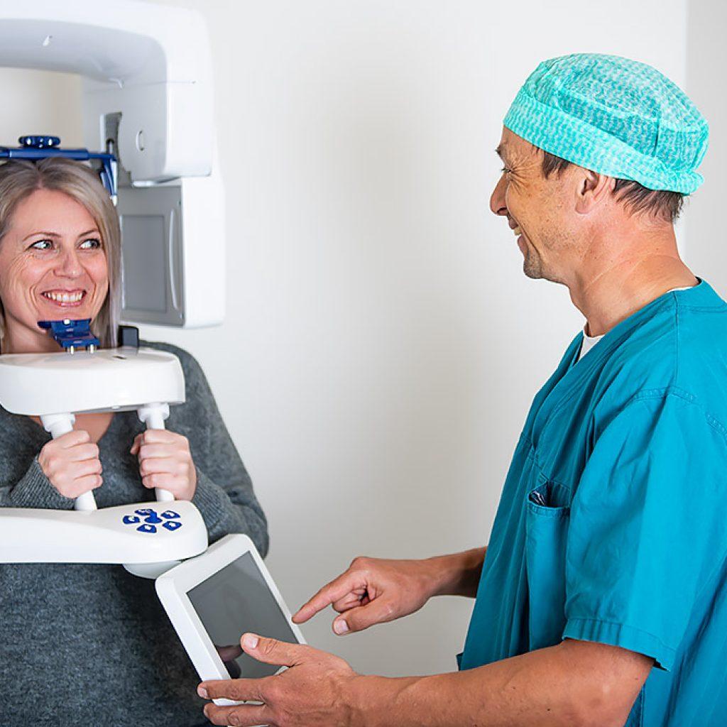 Forus Tann- og Kjeveklinikk - røntgen av tenner